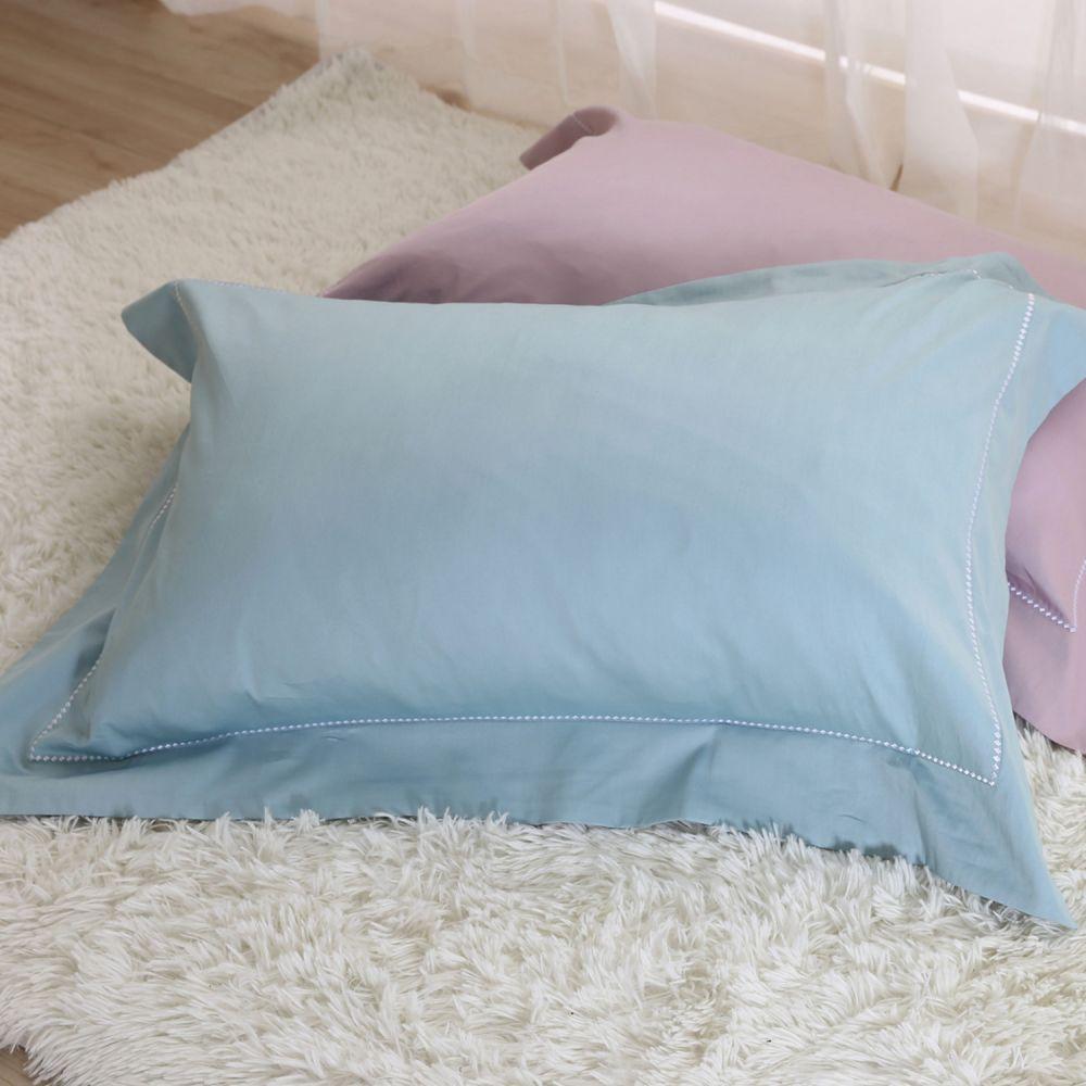 60支純棉刺繡枕套