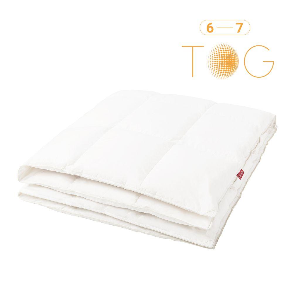 90%白鴨絨被-純棉表布(6-7tog)
