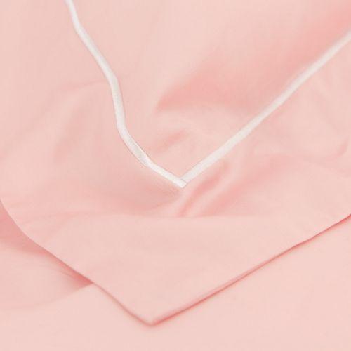 天絲枕套-一字繡